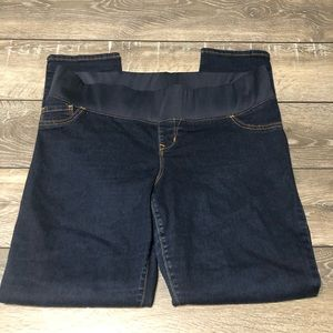 Old Navy Maternity Low Panel Skinny Jeans Sz 14R